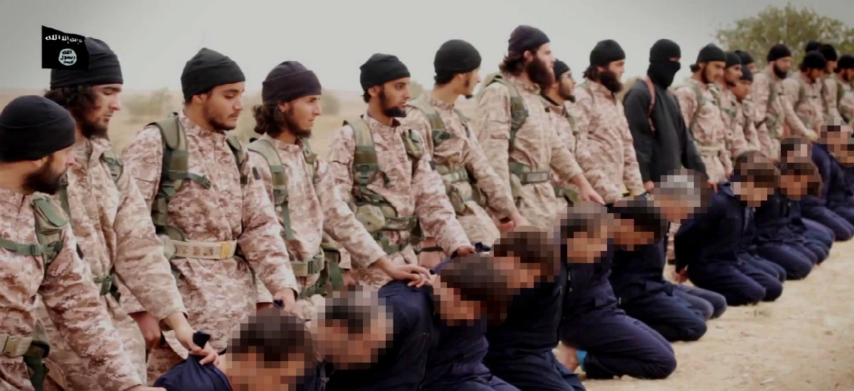 Diabolical new ISIS video shows two groups of Christians brutally executed