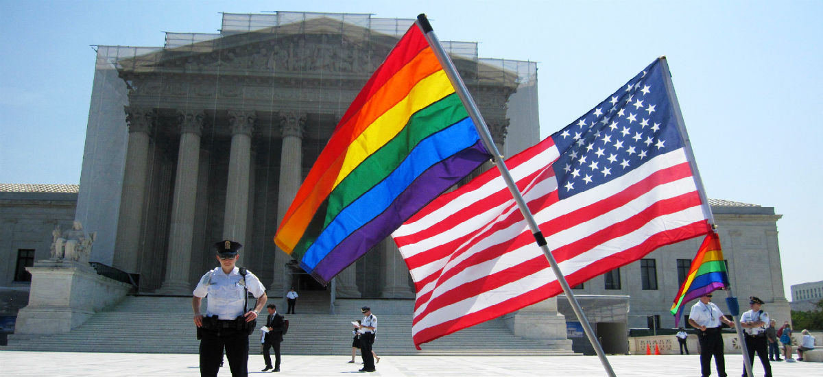 Same sex marriage argument: 'Why not let four lawyers marry one another,' Justice Alito says