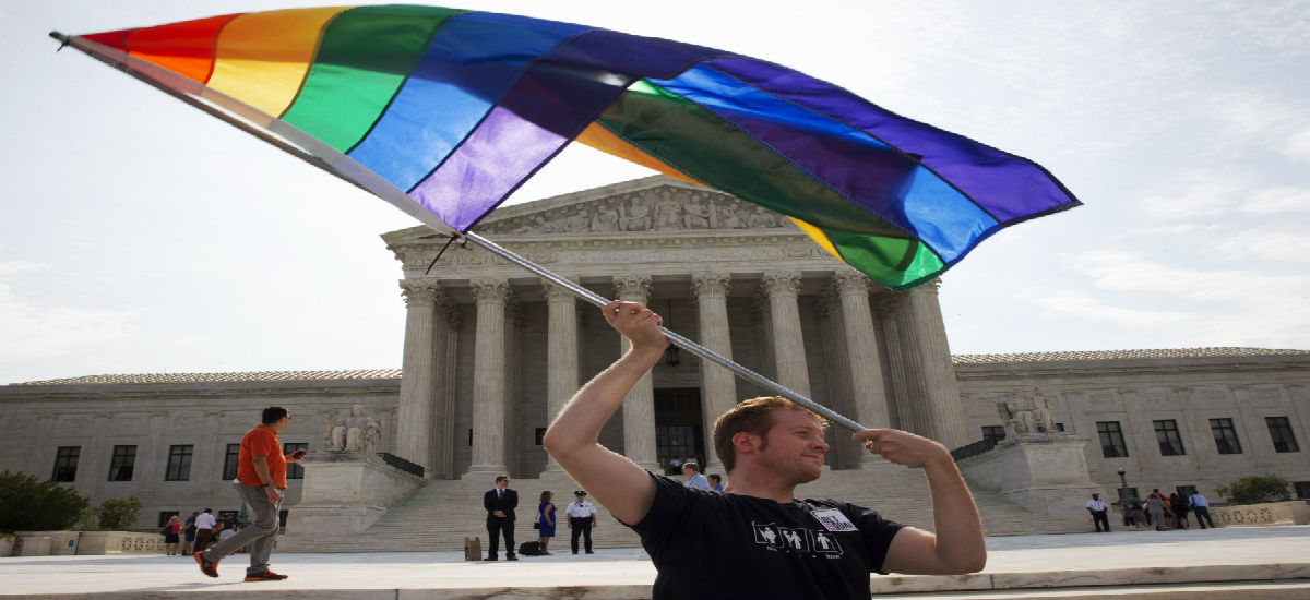 SUPREME COURT RULES GAY 'MARRIAGE' LEGAL IN ALL 50 STATES
