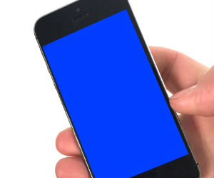 'Blue screen of death'