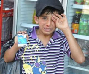 Syrian boy's plight