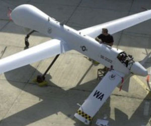 Drone warfare waged
