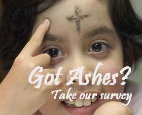 Catholic Online - Ash Wednesday Survey