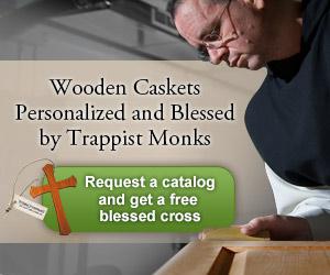 Trappist Caskets Ad