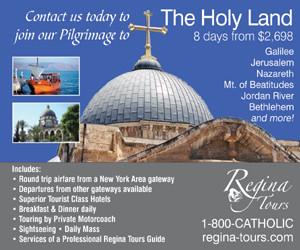 Regina Tours Ad