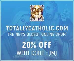 JMJ Products - Totally Catholic Ad