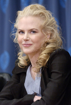 ACTRESS NICOLE KIDMAN – Nicole Kidman is introduced as a goodwill ambassador at the United Nations in New York Jan. 26. The 39-year-old Kidman, who was raised a Catholic, was married in a June 25, 2006, Catholic wedding to country singer Keith Urban in Australia. (CNS/Reuters)