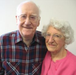 COMMITMENT - August and Rita Ripp, both 92, got married when they were 23 years old and have been married more than 68 years.