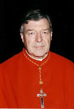 His Eminence George Cardinal Pell, the Archbishop of Sydney, Australia