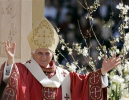 Pope Benedict XVI urged U.S. Catholic educators April 17 not to simply transmit knowledge to their students but to bring them to a deeper understanding of faith 'which in turn nurtures the soul of a nation.'