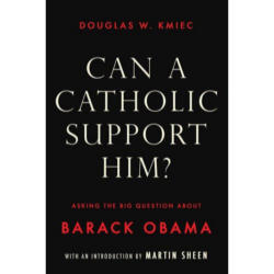 Doug Kmiec's book and support for Senator Barrack Obama has caused strong reactions in the Catholic and broader Christian community. His new book is likely to fan the fires.
