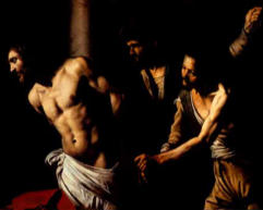 Flogging… they used a whip made of several strips of leather that were embedded at the ends with pieces of bone and lead.  No Roman limitation was placed on the number of lashings inflicted, and often the victim didn´t survive the flogging.  Jesus did.