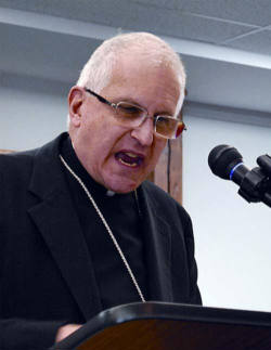 Bishop Martino wants Catholics of the Diocese of Scranton to know of his absolute disapproval of Misericordia University's hosting Mr. Boykin.  By honoring this speaker through allowing his positions, so antithetical to Catholic Church teaching, to be broadcast on its campus, the University has rejected all four essential characteristics of a Catholic institution of higher learning.