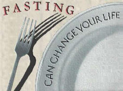 Fasting from physical food strengthens our spiritual life, our life with God, because body and soul are united. Fasting is part of a life spent with God; all the prophets fasted, as did Jesus himself.