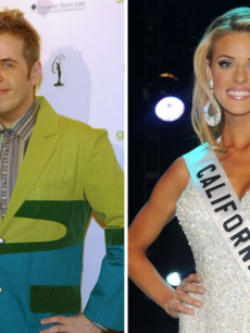 'Perez Hilton' and Carrie Prejean.