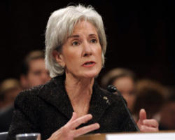 Health and Human Services Secretary Kathleen Sebelius said President Barack Obama supports existing federal laws that prevent federally funded health care providers from forcing doctors and pharmacists who morally oppose abortion from either performing the procedure or providing abortion-inducing medication.