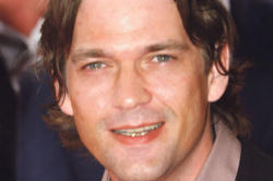 Pictured: Dougray Scott who is a journalist investigating Jose Maria Escriva in the upcoming film on the founder of Opus Dei.