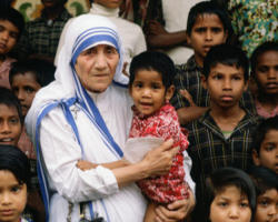 Mother Teresa is ABSOLUTELY right. The greatest destroyer of Peace is Abortion. It is a war against the child. President Barack Obama Receives the Nobel Peace prize while the War on the Womb continues unabated.