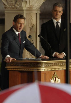 So, in addition to belief, our concerns about Scientology involve behavior. Some have stated in the comments section that, as Catholics, we should address our own bad behavior. At Catholic Online, we have. Furthermore, that does not preclude us from looking at others. (Above photo - Scientology's leader David Miscavige)