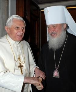 Pope Benedict and Patriarch Kirill know that virtue is the only bulwark against oppression. That's why they exhort their flocks to moral virtue in almost identical language.