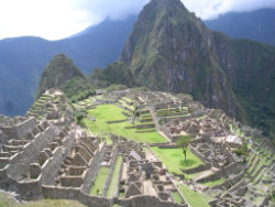 Built by the Inca in a rugged, isolated area of Peru, Machu Picchu was discovered by civilized man when geographer Hiram Bingham found it in 1911.