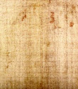 Second face on backside of Shroud of Turin.