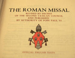 Pope Benedict XVI is welcoming the news that the English translation of the Roman Missal will be published soon, while cautioning that the liturgical changes need to be made with sensitivity.