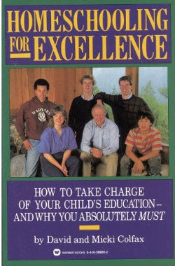 The book, 'Homeschooling for Excellence' details Grant Colfax and his brothers' success stories of going on to procure master's degrees at Ivy League institutions.