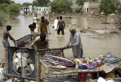 At least 28 people were killed in landslides In the northern area of Gilgit-Baltistan, but officials said up to 40 people were feared dead.