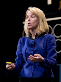 At Google press conference, Vice President Marissa Mayer called the technology 'search before you type.'