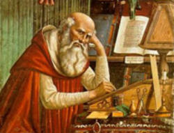 St. Jerome is one of the four great Latin Doctors of the Church