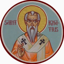 One of many icons of St. Ignatius of Antioch