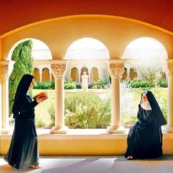 The Nuns of the Abbaye de Notre-Dame de l'Annonciation's mission is to preserve and bring new listeners to the Gregorian chant, an ancient form of sacred music.