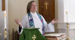 Episcopal Divinity School dean and president, the Very Reverend Katherine Hancock Ragsdale