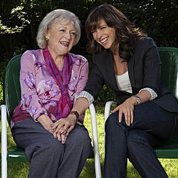 Betty White, With Jennifer Love Hewitt Stars In The Hallmark Hall Of Fame  TV Movie