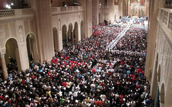 On Sunday evening over 10,000 pro-life pilgrims are expected at the Basilica of the National Shrine of the Immaculate Conception for the opening Mass of the National Prayer Vigil for Life.