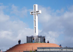The Cross at the Mt. Soledad War Memorial