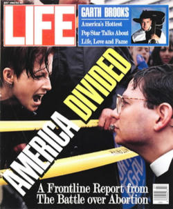 Then Pastor Paul Schenck on the cover of Life Magazine defending children in the womb. Now Fr. Paul Schenck, a Catholic priest, he continues his life's work and journey to build a culture of life and civilization of love.