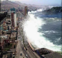 Where was the asian tsunami