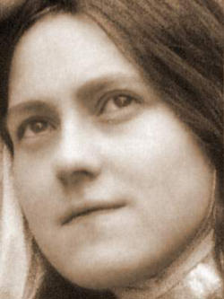 St. Therese is 'one of the 'little ones' of the Gospel who allow themselves to be guided by God, in the depth of His mystery