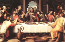The Institution of the Eucharist