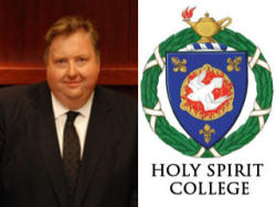 President Gareth Genner of Holy Spirit College