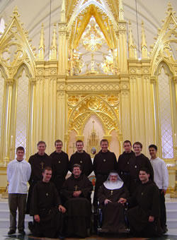 Knights of the Holy Eucharist with Mother Angelica