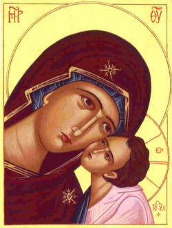 Icon of Mary, the Mother of God