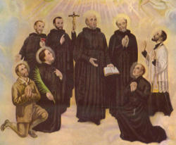 An Image of the North American Martyrs