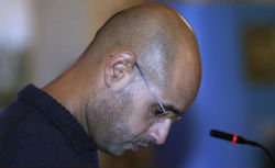 Saif al-Islam Gaddafi is fleeing for his life.