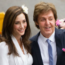 'We will you still need me, will you still feed me when I'm 64?' former Beatle Paul McCartney once sang. McCartney, now 69, confidently took his third bride, U.S. heiress Nancy Shevell in a relatively subdued wedding over the weekend.