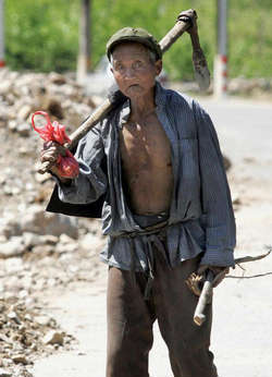 essay on poverty in china