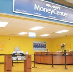 Wal-Mart MoneyCenters offer a range of financial services, including affordable check cashing, options for bill payments and overseas wire transfers, all in addition to prepaid debit cards.