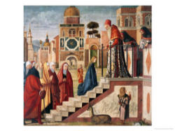 Presentation of Mary by Joachim and Anne